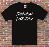 Teenage Dirtbag Retro Lyric Music T-Shirt S-2XL