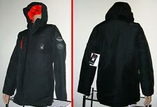 SPYDER $299 NEW W/TAGS BLACK WATERPROOF INSULATED SKI EXTREME WEATHER COAT MEN S