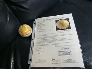 Ted Williams autographed Baseball JSA Certified