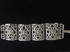 Vintage Estate Bracelet Silver Tone SouthWestern Native Bracelet !!!