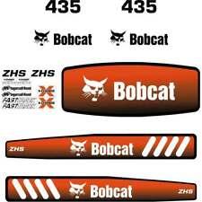 435 DECALS 435 Stickers Bobcat 435 Decal STICKER Kit Mini Excavator