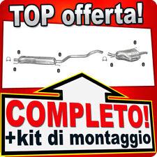 Scarico Completo OPEL ZAFIRA A 2.0 2.2 DTi 101/125CV 2003-2005 Marmitta 364