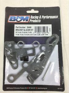 B&M 35498 Bracket & Lever Kit for Turbo TH400, TH350, TH250, 200-4R, 700R4, 4L60