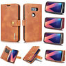 For LG V30 / V30 Plus LG V35 Thinq Case PU Leather Wallet Card Pouch Flip Cover