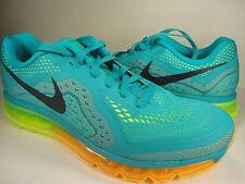 Nike Air Max 2014 Turbo Green Atomic Mango Black Volt SZ 11 (621077-301)