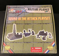 Ultimate Soldier 1/32 Squad In The Attack playset, LOTS OF EXTRAS NOT COMPLETE