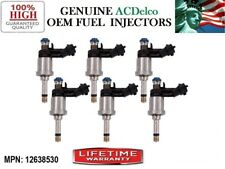 Set/6 New Fuel Injectors *2010-2011 Chevy Camaro 3.6L V6 >#12638530< OEM ACDelco