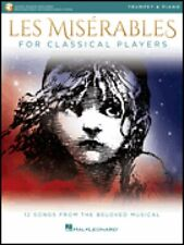 Les Miserables for Classical Players Trumpet and Piano Book & Audio 000284869