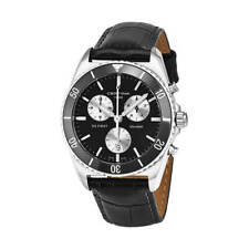 Certina Men's Watch DS First Chrono Black Dial Leather Strap C014.417.16.051.00
