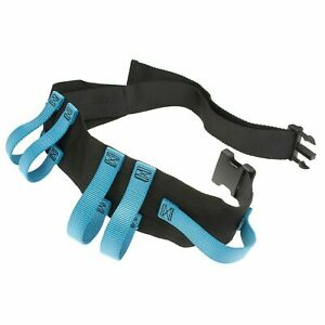 Asatechmed Utility Gait Belt with 6 Handles, Straps and Quick Release Buckle