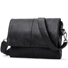 Men Casual Briefcase Business Shoulder Leather Messenger Bags Laptop Handbag Bag