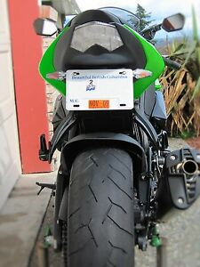 KAWASAKI NINJA ZX10 ZX10R 2006 - 2007 FENDER ELIMINATOR TAIL TIDY  LIFE WARRANTY
