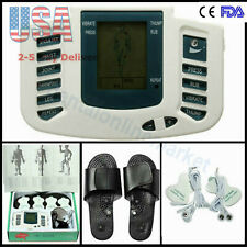 NEW Digital Therapy Machine Full Body Massager Pain Relief Acupuncture USA FDA