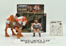 Fisto & Stridor Complete MIB He-Man 1983 Mattel Masters Of The Universe Vintage