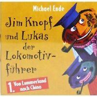 MICHAEL ENDE - 1 JIM KNOPF UND LUKAS DER LOKOMOTIVFÜHRER CD  KINDERHÖRSPIEL NEU