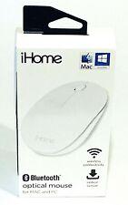 iHome Wireless Optical Mouse for MAC & PC USB-C USB-A Macbooks OS Windows Laptop