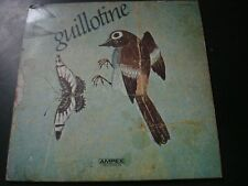 GUILLOTINE SELF TITLED LP RECORD