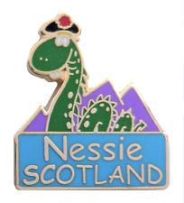 Scotland Nessie Loch Ness Monster Pin Badge