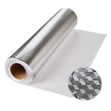 Self Adhesive Aluminum Foil Waterproof Anti oil Wallpaper Kitchen Sticker WH1