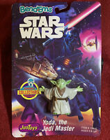 1993 VINTAGE BEND-EMS STAR WARS JUSTOYS YODA,THE JEDI MASTER COLLECTABLE.