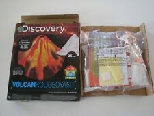 New! *Open Box* Discovery Kids Glowing Volcano Kit School Home Science Project
