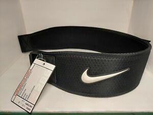 Nike Training Belt Mens Intensity Black - Gym Workout Fitness XL