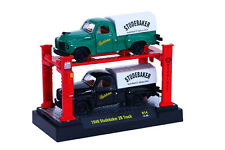 1949 Studebaker 2R set collector trucks in orig pkg w/display lift-brand new 49