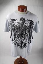 """Anchor Blue Gray Graphic T-Shirt """"Destruction"""" - Men's Large"""