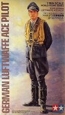 TAMIYA 1/16 II Guerra Mundial LUFTWAFFE ALEMANA Ace PILOTO #36302