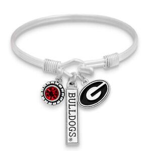 Georgia Bulldogs Bracelet- Trifecta