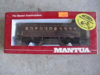HO Scale Mantua 1860 PRR Coach Car NIB 717-520