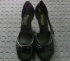 Open Toe Wide (C, D, W) Solid Heels for Women