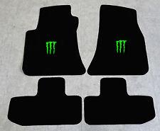 Autoteppich Fußmatten für Dodge Challenger Monster ab 08' Vel. neongrün 4tlg Neu
