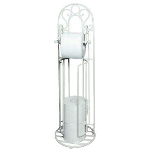 Toilettenpapierhalter Rollenhalter Klopapier Ständer Bad /Toilette Accessoire we