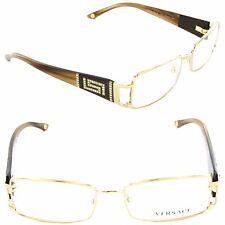 VERSACE Eyeglasses VE 1163B 1221 52mm Platinum / Demo Lens