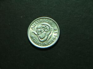 1943 S Australian Shilling