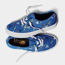 Vivienne Westwood X Vans Anglomania Blue Slip On Shoes Size Men 6.5 Women 8 NEW!