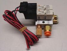 Smc Vv4Qd15-C01-02-Daj00785 filter plate W/ 2 Vqd1151V-5Mo valve