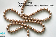 25 Beads Swarovski #5810 Crystal Powder Almond Pearl 001-305