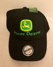 NEW John Deere Black Mesh Cap Hat Adjustable
