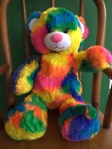 """Build a Bear Retired 17"""" Tropical Teddy Bear Plush Toy - Stuffed - NWT"""