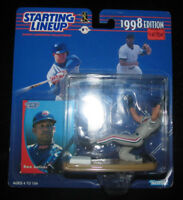 1998 EDITION STARTING LINEUP KENNER SLU COLLECTIBLE DAVID DAVE JUSTICE MLB