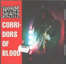 CD Import - Napalm Death - Corridors of Blood - Made in England