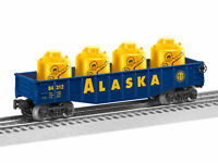 Lionel 6-84312  Alaska Gondola With Canisters 0/027 Freight Car NEW IN BOX