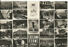 160316 PISA CASCIANA TERME - VEDUTINE - STEMMA ARALDICA Cartolina FOTOGRAFICA