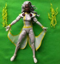 "Marvel Legends Storm 6"" X-Men White Costume Retro Vintage Series 100% Complete"