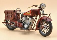 1956 Indian Motorcycle Model Antique Handmade Gifts Hot Cast Figurine Home Decor