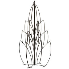 GAR461 H Potter Lotus Trellis, Wrought Iron, Patio, Garden, Yard Art, Ornamental