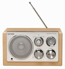 Radio Retro Denver TR-61 Holzdesign mit AUX IN für MP3 Player oder Handy