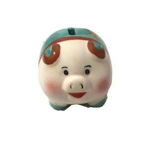 SMALL CERAMIC PIGGY BANK